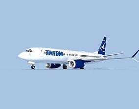 3D Boeing 737-800 Max TAROM