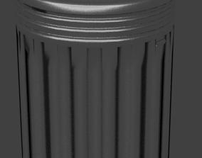 Trashcan 3D printable model