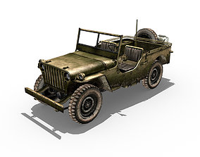 Willys Jeep 3D asset