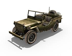 Willys Jeep 3D asset