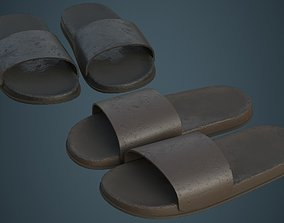 Slipper 3B 3D asset game-ready