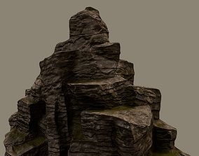 Mountain 1 Low Poly 3D model VR / AR ready