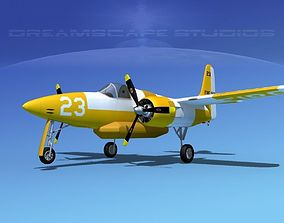Grumman F7F Tigercat V09 3D