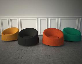 Tacchini Crystal chair 3D model