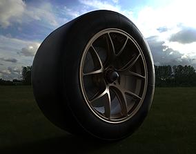 GT wheel vehicle 3D model