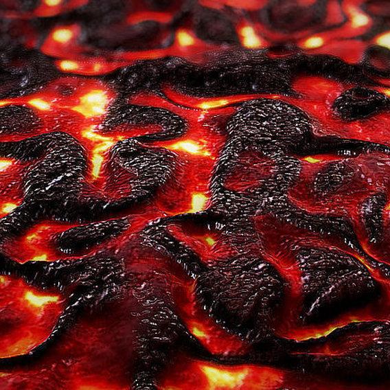 Cinema 4d - Lava ( Magma ) Material