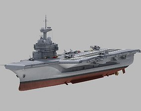 3D Charles de Gaulle Carrier R91