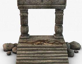 3D Ancient Entrance Design