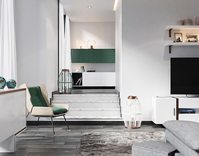 3D SCANDINAVIAN APARTMENT