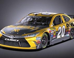 Nascar Toyota Camry DeWalt Matt Kenseth 2017 VRAY 3D