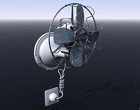 3D model VINTAGE 40s COOLING FAN
