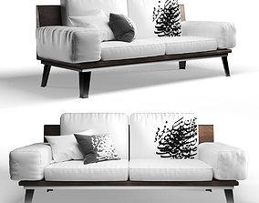 3D free persian fabric sofa
