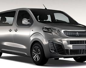 3D Peugeot Traveller L2 2017