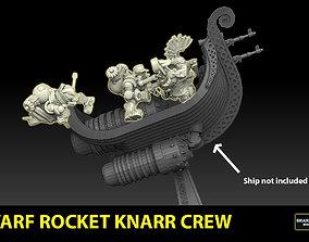 Rocket Knarr Dwarf Crew 3D printable model