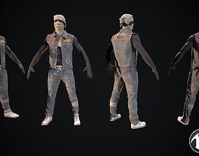 3D model Skull armor 14