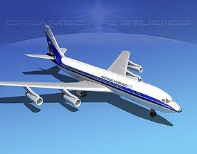 Boeing 707 Aerolineas Argentinas 3D model