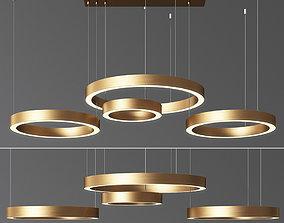 3D model Circle Ring Chandelier