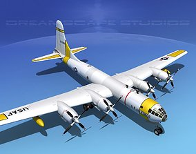 Boeing WB-50 Superfortress II 3D
