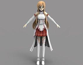 3D model Yuuki Asuna