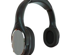 3D model game-ready Headphones Wireless INDA DA998