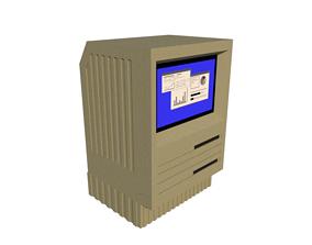 3D print model Old Computer