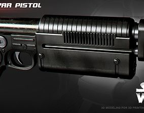 3D print model K-16 Bryar pistol