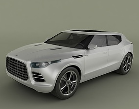 Aston Martin Lagonda Crossover 3D