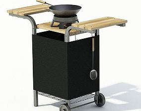 3D Portable Outdoor Grill