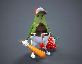 3D asset Avocado