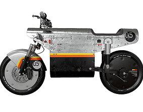 KATALIS EV500 Electric Bike 3D asset low-poly