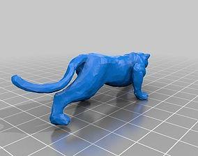 Jaguar sculptore 3D printable model