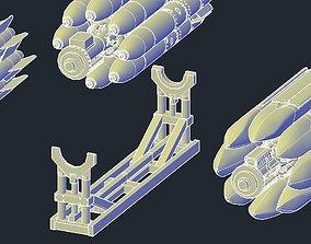 3D printable model Revell B1B Lancer MPRL Holder or Stand