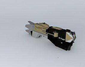 3D SD Dagger Destroyer class