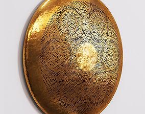 Brass Sconce 3D model