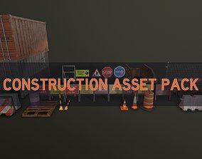 3D model Construction Asset Pack