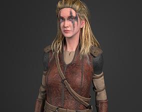 3D asset animated Viking Warrior Vi