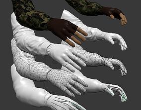 FPS Hands 3D asset