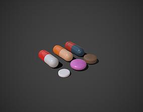 3D model Medical Pills