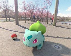 Pokemon Bulbasaur 3D model game-ready