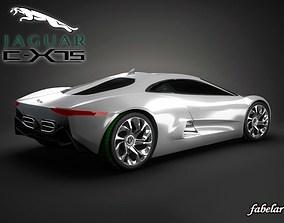 Jaguar C-X75 STD MAT 3D model