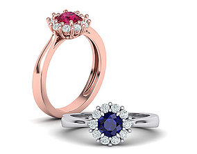 Classic Diana Engagement ring Diamond ring