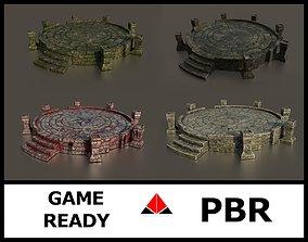 3D Ancient altar Texture Pack