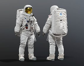 SPACESUIT NASA APOLLO 11 3D