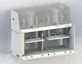 Pressure test platform 3D model