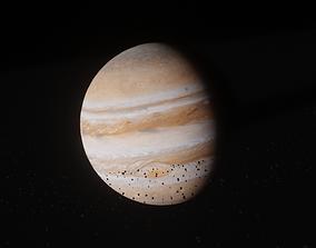jupiter Jupiter 3D model animated