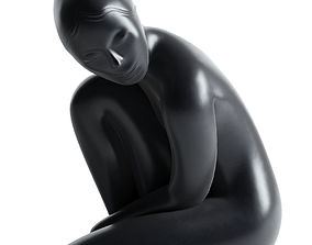3D Venus Tall Sculpture design