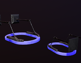 Cyberpunk Light 3D asset