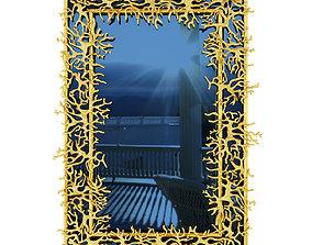 3D Maison Rapin -ROBERT GOOSSENS Blue mirror