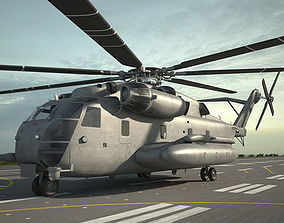 3D aircraft Sikorsky CH-53E Super Stallion