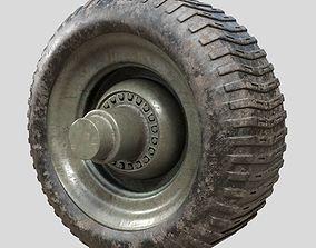 3D Tire Textured 4K